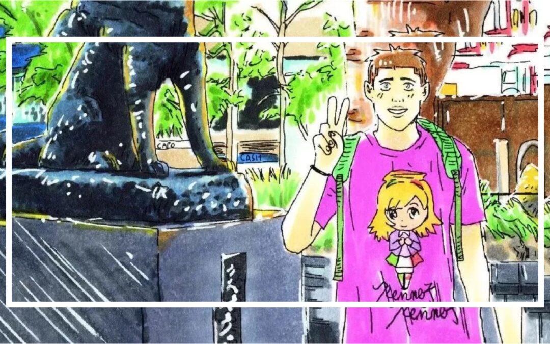 MINGO, il manga di Peppe. Un italiano in Giappone